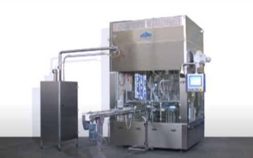 Waldner DOSOMAT Rotary Machine for Dairy Products with Package Sterilization