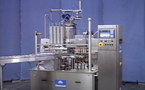 Waldner DOSOMAT Juice Cup Filling and Sealing Machine